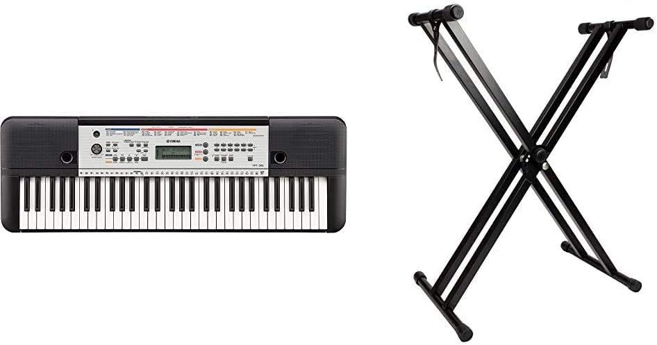 Yamaha YPT-260Teclado digital portátil para principiantes, 61 ...