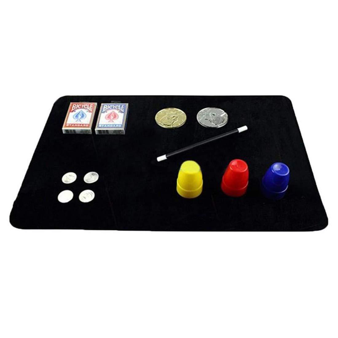 Yingwei VWH Magic Card Mat Magiciens Pi/èces de Tapis de Poker Props pour Les D/ébutants S