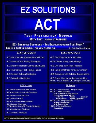 EZ ACT - Math Strategies