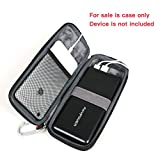 For Portable Charger RAVPower 26800mAh External Battery Pack Power Bank EVA Hard Protective Travel Case Carrying Bag By Hermitshell