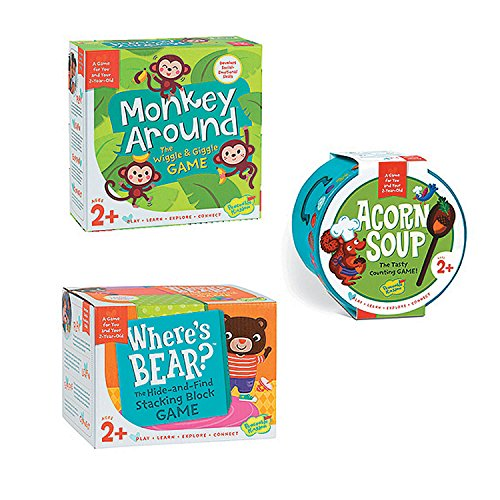 Monkey Around, Where's Bear and Acorn Soup: Set of 3 ()