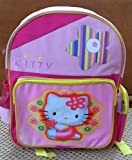 Pink Kitty Girl's Backpack – Toddler Size Kitty Backpack, Outdoor Stuffs