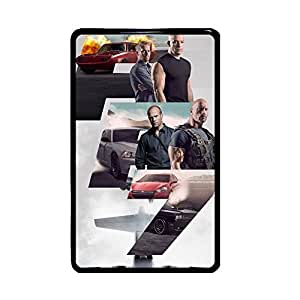 Generic Rigid Plastic Beautiful For Girl For Amazon Kindle Fire Pad Print With Fast Furious 7 Phone Cases
