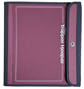 Mead Trapper Keeper Sewn Binder, 3 Ring Binder, 1.5 Inch, Pink (72179)