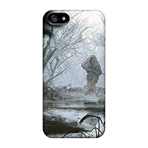Anti-scratch And Shatterproof A Lone Sniper Phone Case For Iphone 5/5s/ High Quality Tpu Case