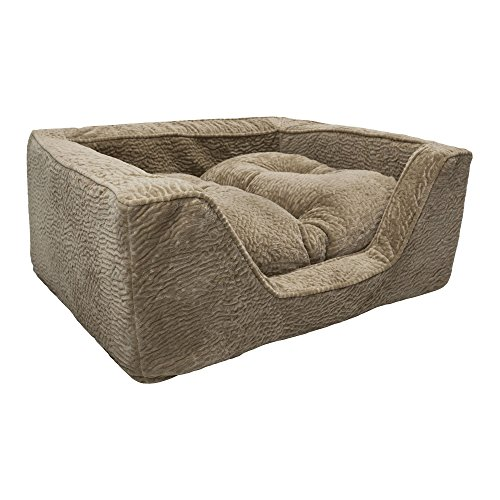 Snoozer Show Dog Premium Micro Suede Square Dog Bed
