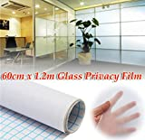 60cm 1.2M Frosted Window Tint Glass Privacy PVC Film For Home Office by AdvancedShop
