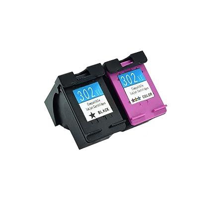 Komada 1set (1 negro, 1 color) cartuchos de tinta compatibles ...