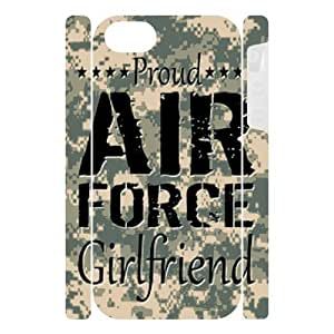 Toppest Camo Proud Air Force Custom Dual-Protective Case for IPhone 5 3D (New)