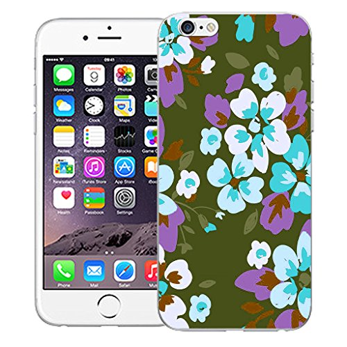 """Mobile Case Mate iPhone 6 Plus 5.5"""" Silicone Coque couverture case cover Pare-chocs + STYLET - Perenial pattern (SILICON)"""
