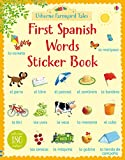img - for Farmyard Tales First Spanish Words Sticker Book (Farmyard Tales First Words Sticker) book / textbook / text book