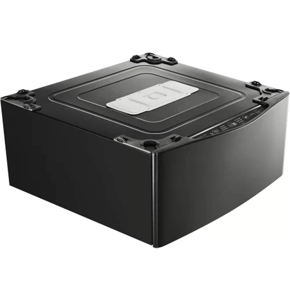 LG WD205CK Pedestal Carga superior 700RPM Negro, Acero inoxidable ...