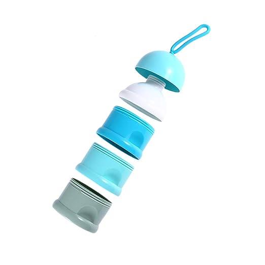 Mitlfuny Unisex Baby Kinder Jungen Zubeh/ör S/äuglingspflege,Tragbarer abnehmbarer Milchpulver-Kasten-Sicherheits-Baby-Milchpulver-Beh/älter-Imbi/ß-Kasten