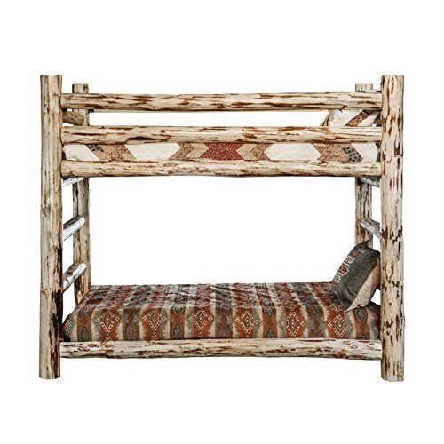 Montana Woodworks MWBBN Montana Collection Bunk Bed, Twin, Ready to Finish ()