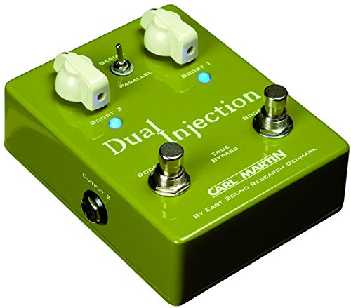 Carl Martin Duel Injection Guitar Distortion Effects Pedal (Light Octa Bank)
