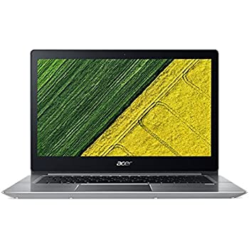 Acer Swift 3 SF314-52-517Z 14 Laptop Computer - Silver, Intel Core i5-8250U Processor 1.6GHz, 8GB DDR4 Onboard RAM, 256GB Solid State Drive, ...