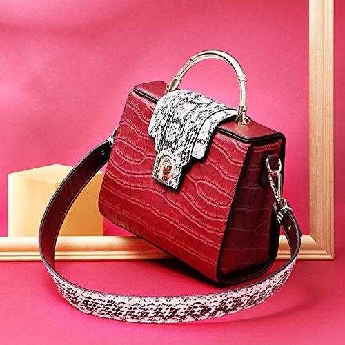 Vernice Valin Di Per Le Rosso Donne Bag Media Tote In qq1Zp46