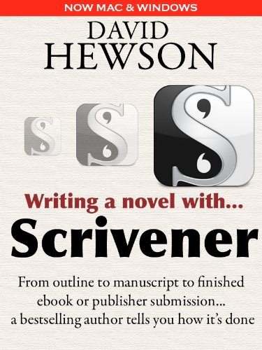 Writing A Novel With Scrivener  English Edition