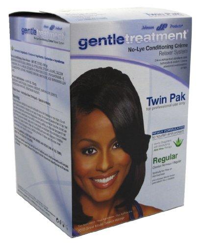 Gentle Treatment Hair Relaxer (Gentle Treatment Relaxer Regular Twin Pak No-Lye)