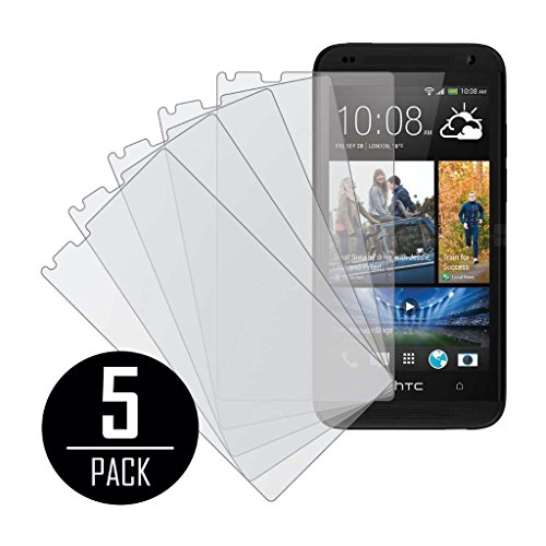 n Protector Cover, MPERO Collection 5 Pack of Matte Anti-Glare Screen Protectors for HTC Desire 610 ()