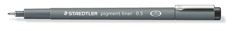 Staedtler Pigment Penna Fineliner 0.6mm, 1 pz. 308-0.6