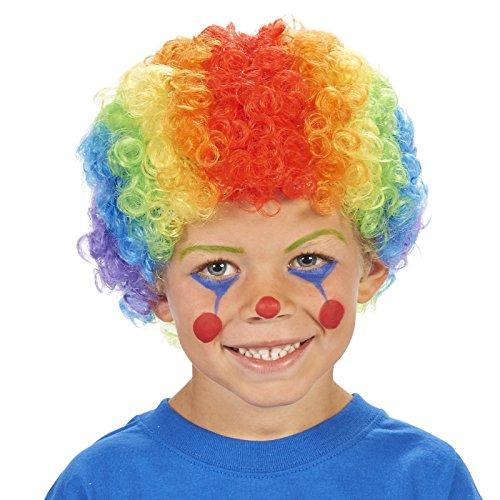 Kids Rainbow Clown Wig (Rainbow Clown Child Dress Up Wig)