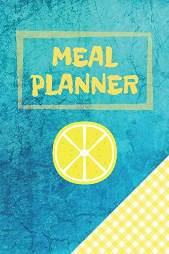Meal Planner: Weekly Plan Meals & Food Journal - Shopping List (52 Week Log) (Meal Planners)