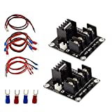 Mosfet 3D Printer, FYSETC Heat Bed Power Module Add-on Hot Bed Mosfet Tube High Current Load Module for 3D Printer ANET A8 Prusa i3 and More - 2 Pack