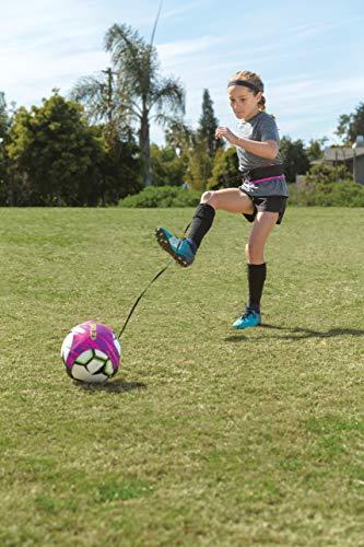 SKLZ Neon Hands Soccer Trainer- Fits Ball Size 3,