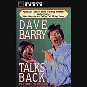 Dave Barry Talks Back Audiobook