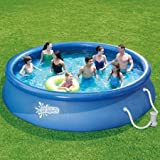Summer Escapes 15′ Quick Set Above Ground Ring Pool with Pump with GFCI For Sale