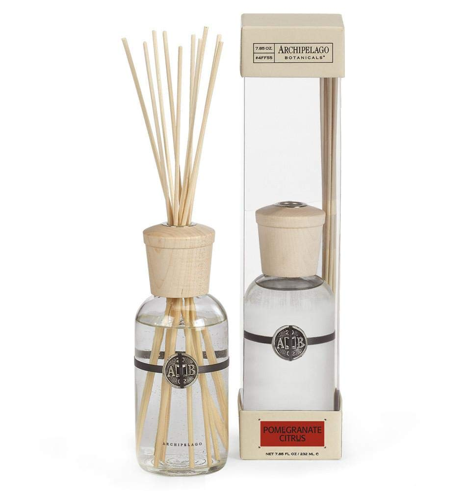 Archipelago Botanicals Home Fragrance Reed Diffusers 2 Pack Gift Set, 4FF55 (Pomegranate Citrus) by Archipelago Botanicals (Image #2)