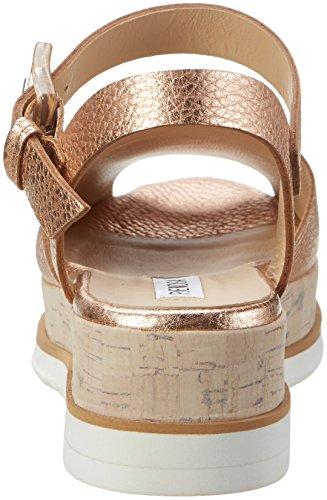 Peperosa 8501 - Sandalias con cuña Mujer Braun (Rame)
