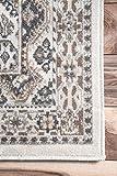 nuLOOM Becca Vintage Tile Area Rug, 8' x 10', Beige