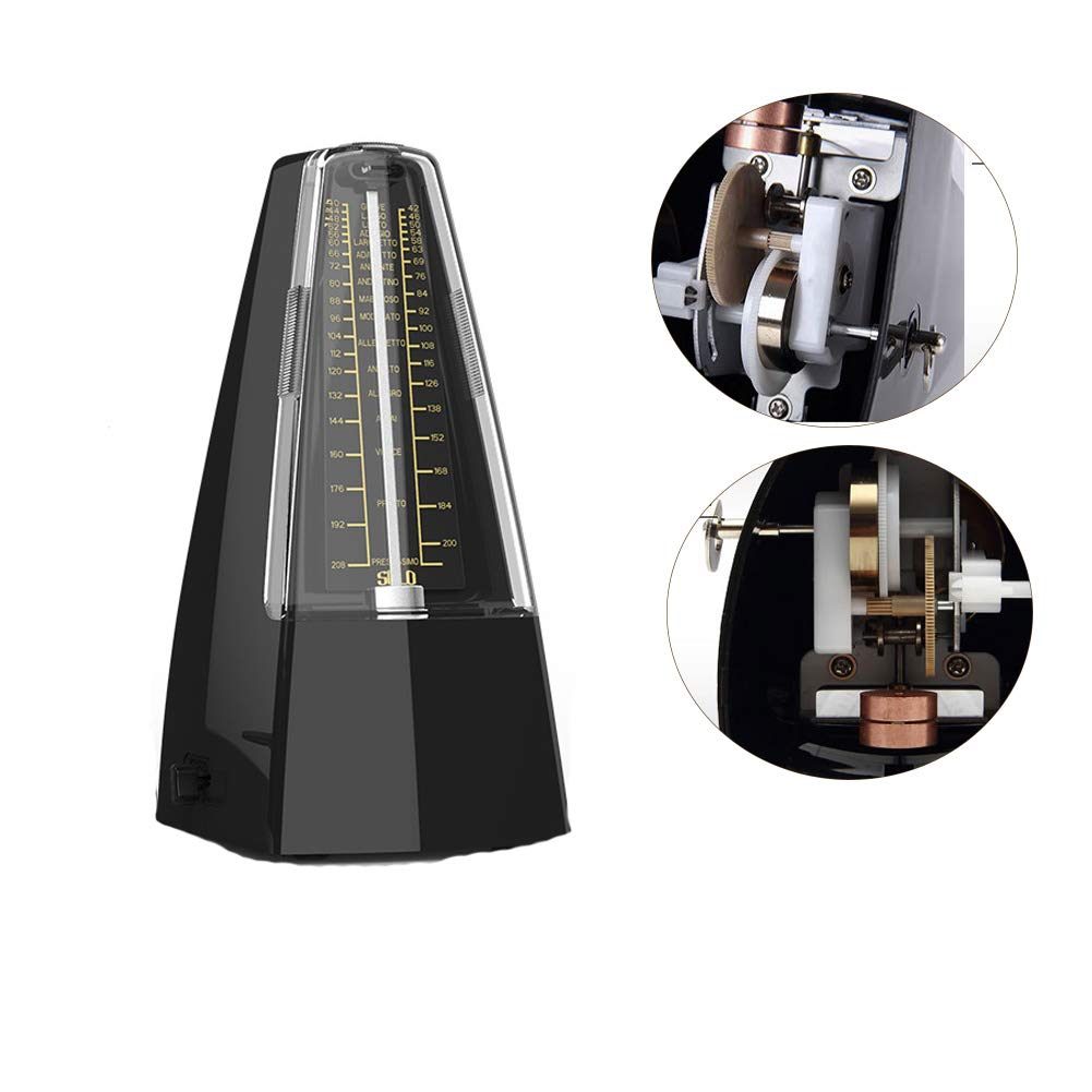 batterie africaine Pour piano instrument de musique violon Pinshang SOLO S-350 M/étronome m/écanique musical Pendule Outils dexercice /à rythme pr/écis guitare