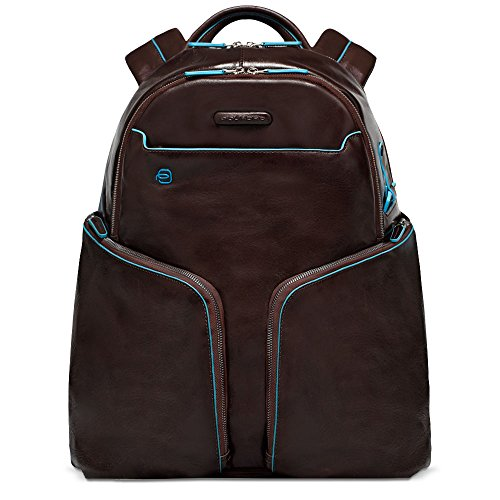 Expandable Leather Computer Backpack - 9