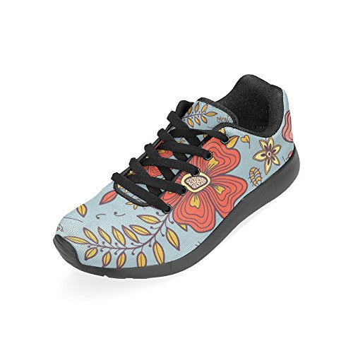 Interestprint Femmes Jogging Running Sneaker Léger Aller Facile Marche Confort Sport Chaussures Multi 8