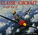 Classic Aircraft WWII 2020 Wall Calendar