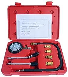 8milelake Compression Gauge Test Set for Engine Cylinders Diagnostic Tester