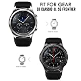 Gear S3 Frontier/ Classic Watch Band, MoKo [6-PACK] Soft Silicone Replacement Sport Strap for Samsung Gear S3 Frontier/S3 Classic/Moto 360 2nd Gen 46mm Smart Watch, NOT FIT S2&S2 Classic, Multi Colors