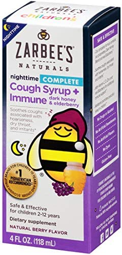 Zarbees Naturals Childrens Nighttime Elderberry product image