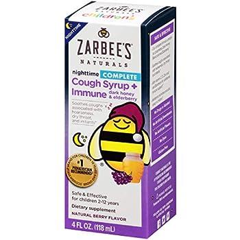 Amazon Com Zarbee S Naturals Children S Complete Cough