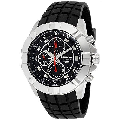 Seiko Chronograph Black Dial Men's Watch – SNDD73P2