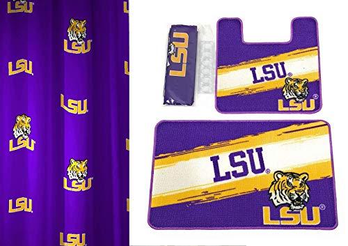 - LSU Tigers NCAA 15-Piece Bath Set