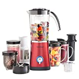 VonShef 220 240 Volts Blender, Smoothie Maker, Grinder, & Juicer...