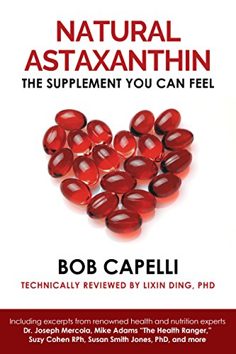 """Natural Astaxanthin """"The Supplement You Can Feel"""""""