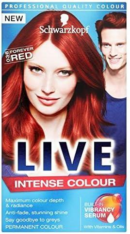 Schwarzkopf Live Color Intenso 038 Forever rojo tinte de pelo ...