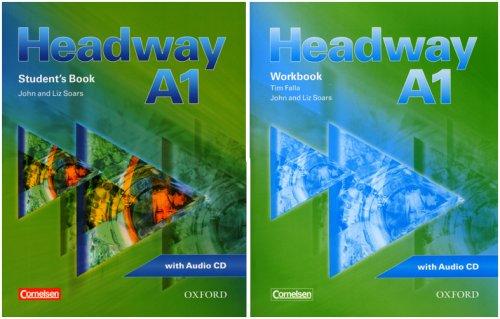 Headway: CEF-Edition: Level A1 - Student's Book mit CD, Workbook mit CD