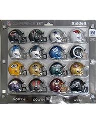 NFC Conference NFL Speed Pocket Pro Helmet Set (16-Piece)