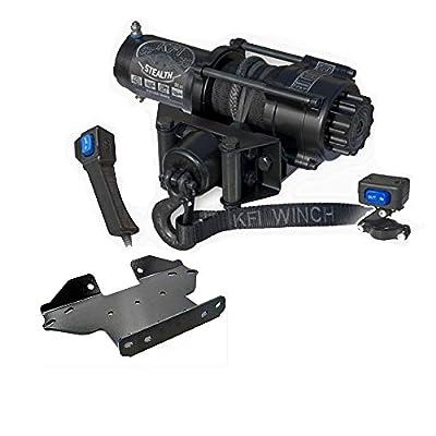 KFI Combo Kit - SE35 Stealth Winch & Winch Mount - Kawasaki Brute Force 650/750 4x4